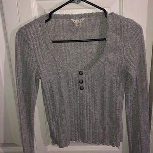 long sleeve fleece shirt